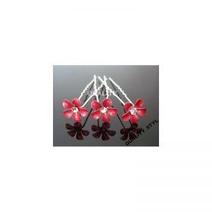 Szpilka malinowy kwiat
