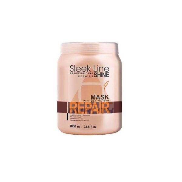 STAPIZ SLEEK LINE - MASK WITH SILK PROTEINS – REPAIR maska do włosów
