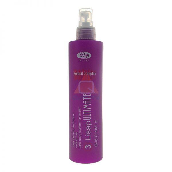 Lisap Ultimate Straight Fluid - Fluid ochronny do prostowania włosów