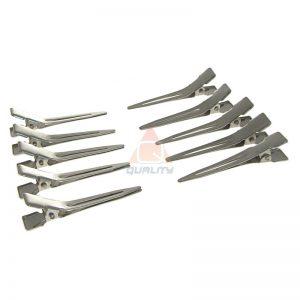 Metalowe klipsy fryzjerskie 11,4 cm