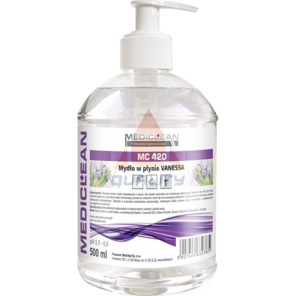 Mydło Antybakteryjne – VANESSA