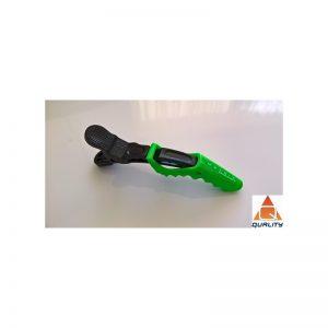 MATRIX Klipsy fryzjerskie typu krokodyl zielone