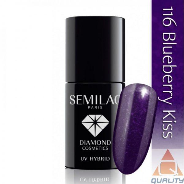 SEMILAC - Lakier Hybrydowy - 116 Blueberry Kiss