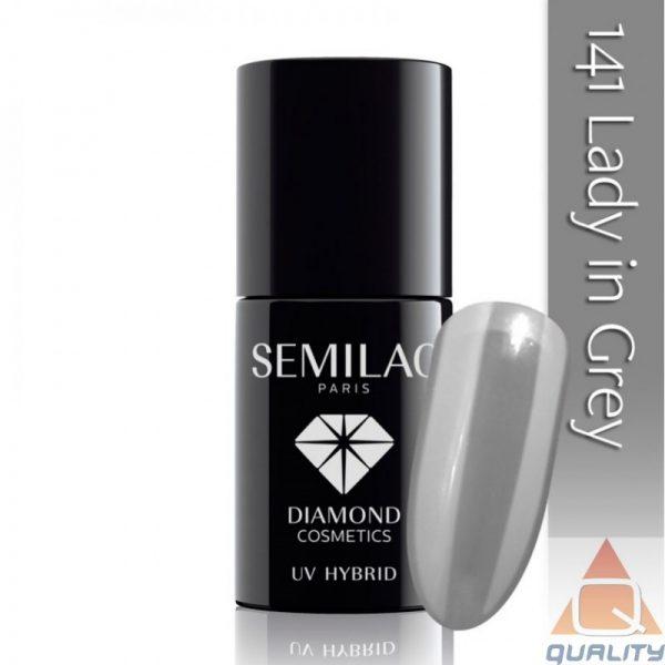 SEMILAC - Lakier Hybrydowy - 141 Lady In Grey