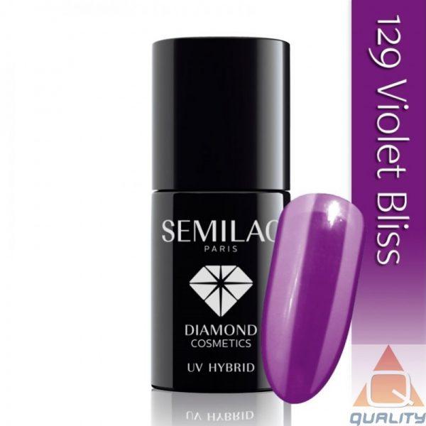 SEMILAC - Lakier Hybrydowy - 129 Violet Bliss