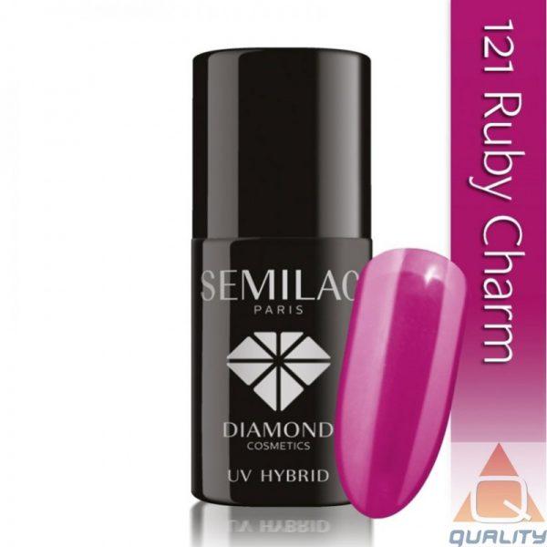 SEMILAC - Lakier Hybrydowy - 121 Ruby Charm