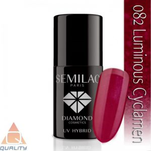 SEMILAC - lakier hybrydowy - 082 Luminous Cyclamen