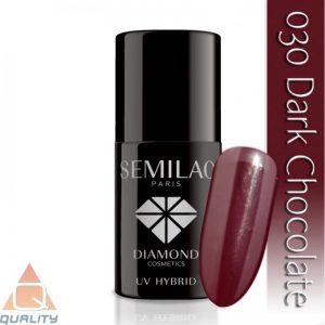 SEMILAC - lakier hybrydowy - 030 Dark Chocolate