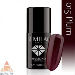 SEMILAC - lakier hybrydowy - 015 Plum