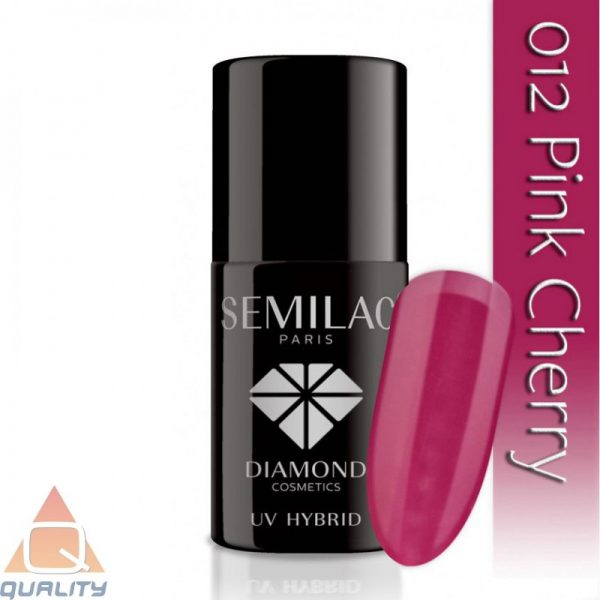 SEMILAC - lakier hybrydowy - 012 Pink Cherry