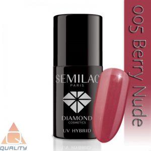 SEMILAC - lakier hybrydowy - 005 Berry Nude
