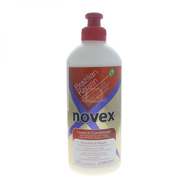Novex Brazilian Keratin Leave-In odżywka z keratyną bez spłukiwania 300ml