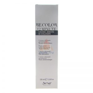 BE COLOR 12 MINUTE Permanent colouring cream