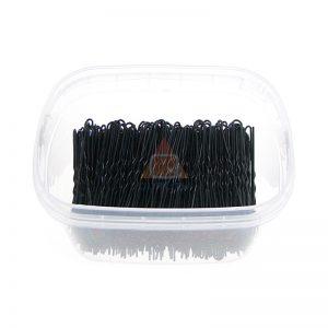 Szpilki, fryzjerski do koków, harnakle – 6,5cm – pudełko 0,5kg - CZARNE