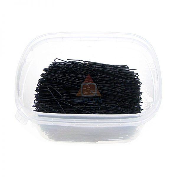 Szpilki, fryzjerski do koków, harnakle – 4,5cm. – CZARNE