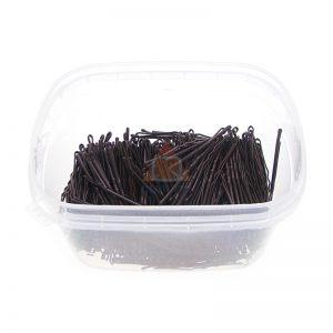 Wsuwki do włosów QUALITY długie 5,5cm - 0,5kg. BRĄZOWE