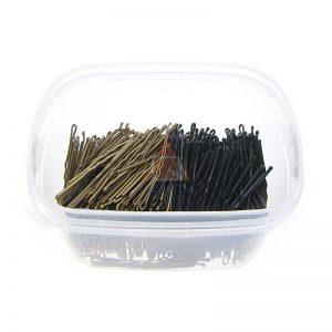 Wsuwki do włosów QUALITY długie 5,5cm - 0,5kg. MIX: ZŁOTO-CZARNY