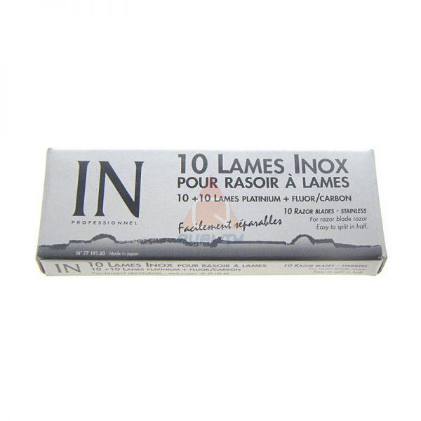 IN LAMES INOX żyletki, ostrza - 10szt