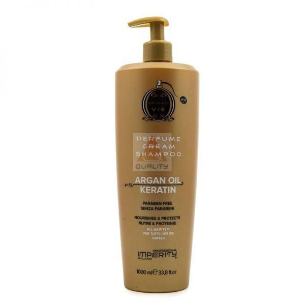 Imperity Kremowy szampon z keratyną i olejkiem arganowym