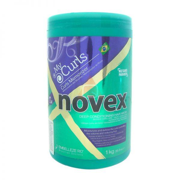 Novex My Curls maska nawilżająca do włosów kręconych 400g
