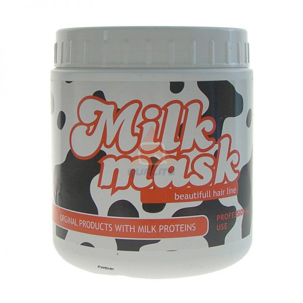 Milk Mask z proteinami 1000 ml - mocno nawilżająca, wygładzająca mleczna maska