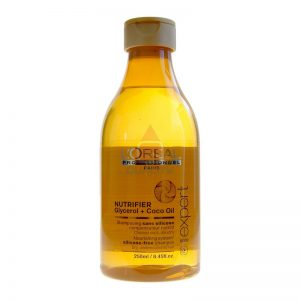 L'oreal Nutrifier Glycerol + Coco Oil Szampon - włosy suche - 250ml
