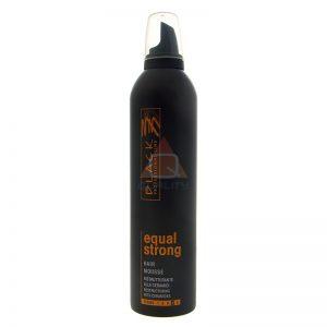 BLACK EQUAL STRONG MOUSSE - pianka do włosów - 400ml