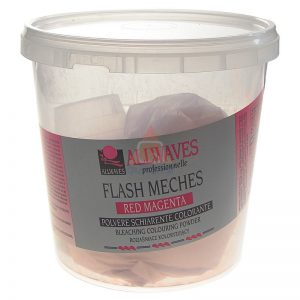 ALLWAVES Flash Meches Fire Red - rozjaśniacz czerwony 250 g