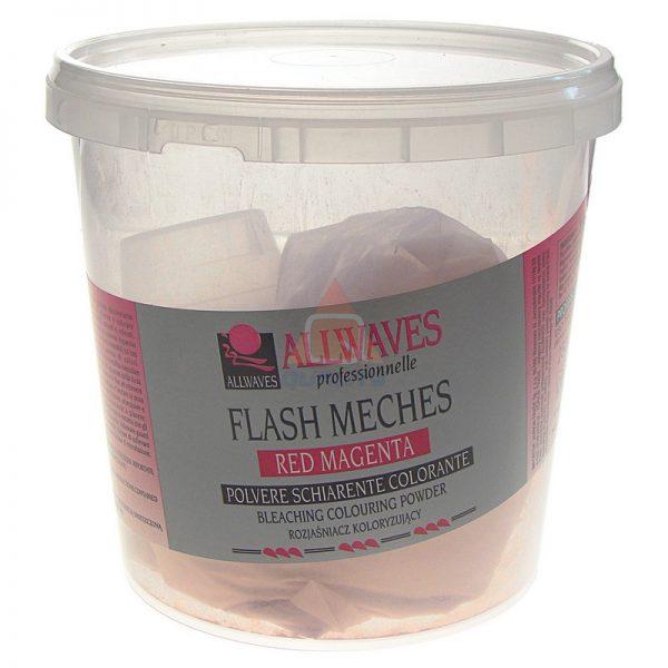 ALLWAVES Flash Meches Fire Red - rozjaśniacz czerwony 250 g
