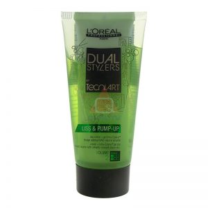L'oreal Dual Stylers by Tecni.Art Liss & Pump-Up Krem + żel - 150ml