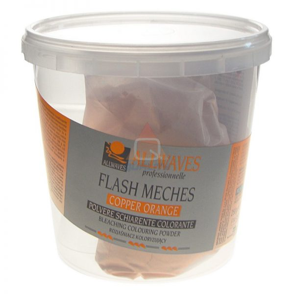Allwaves Flash Meches rozjaśniacz Cooper Orange - 250g