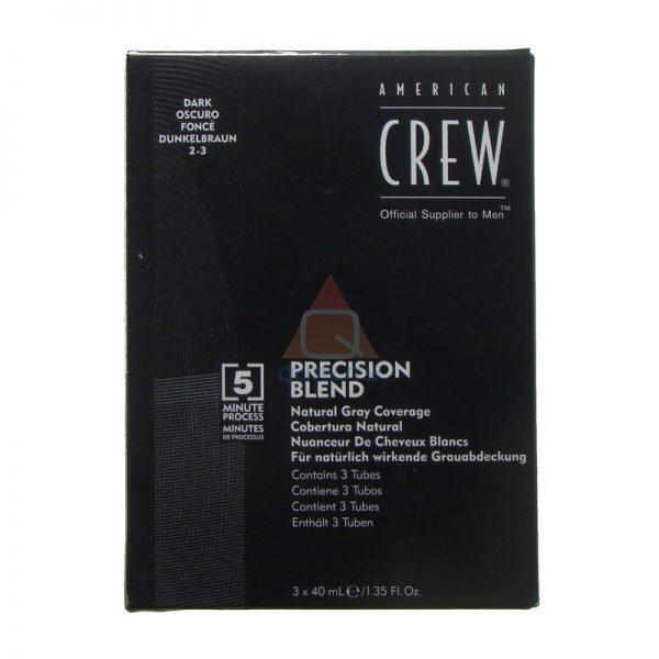 American Crew - Precision Blend - zestaw do koloryzacji dla mężczyzn - odsiwiacz