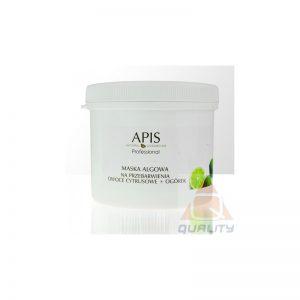 Apis - Maska algowa na przebarwienia owoce cytrusowe ogórek
