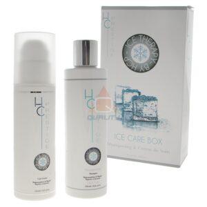 ICE CARE BOX: ICE szampon, ICE krem do włosów