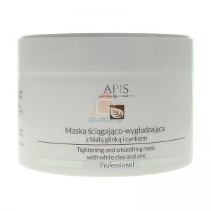 APIS Maska ściągająco-wygładzająca z białą glinką i cynkiem - 200ml