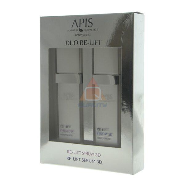 APIS DUO RE-LIFT SPRAY 3D & RE-LIFT SERUM 3D, 2x50ml