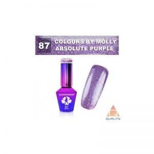 Colours by Molly Lakier hybrydowy - Absolute Purple 87