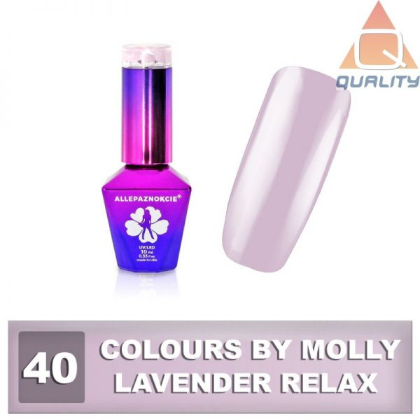 Colours by Molly Lakier hybrydowy -Lavender Relax 40