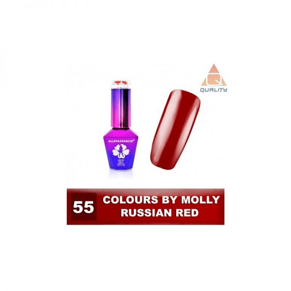 Colours by Molly Lakier hybrydowy - Russian Red 55