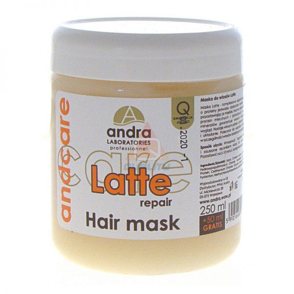 Andra Latte - maska do włosów z jedwabiem - 300ml