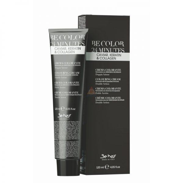 Farba BE COLOR 24 MINUTE Permanent colouring cream farba do włosów - 120ml