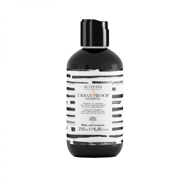 Alter Ego URBAN PROOF - Szampon oczyszczający z węglem aktywnym - 250 ml